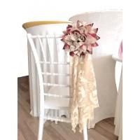 tiffany chair fabric ornament flower
